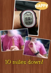 10 mile trainingmarathon
